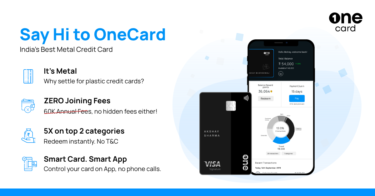 Introducing OneCard