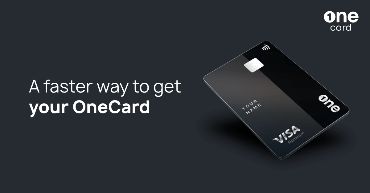 A faster way to get your OneCard